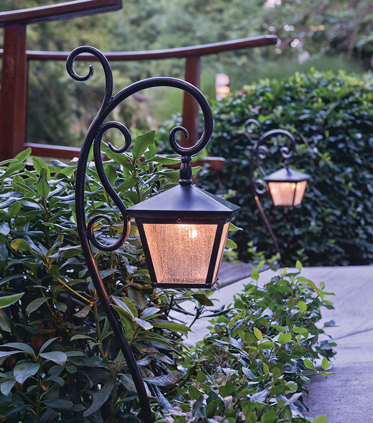 A stylish light has great impact on your exterior's look.
