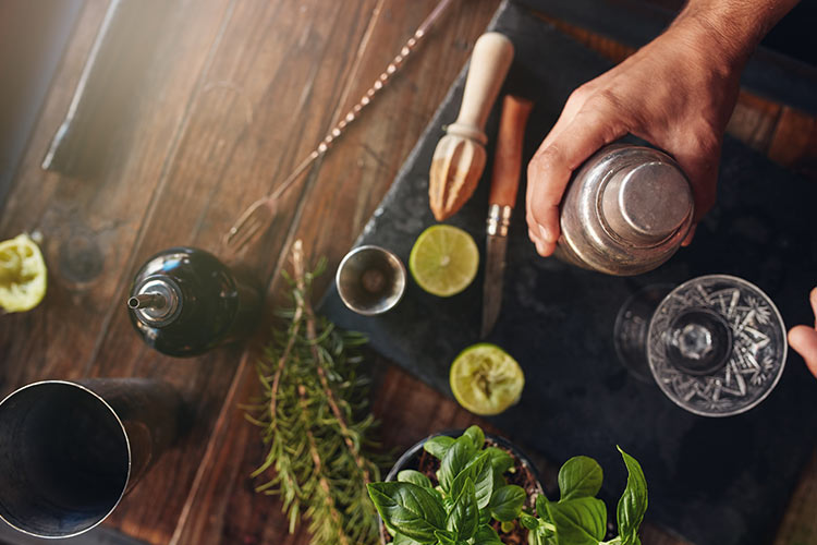 The right tools lets you prepare a variety of popular drinks.