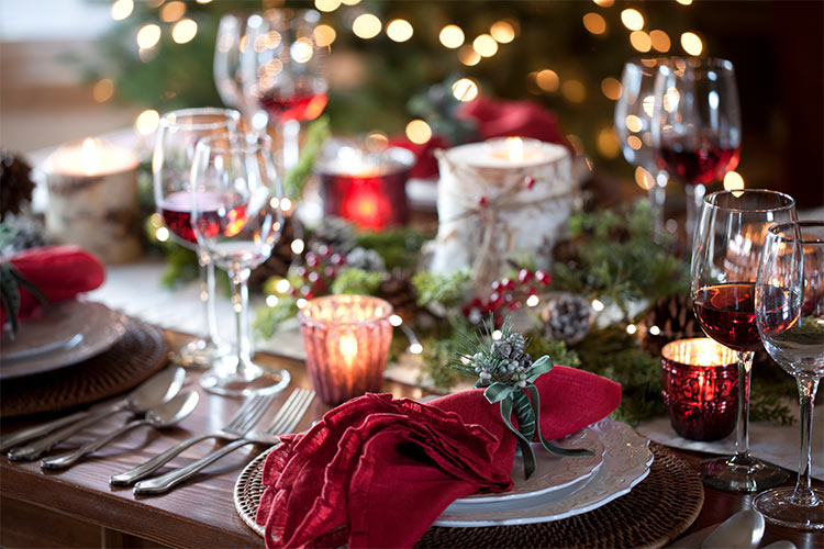 Incorporating small details into your table setting will enchant your guests.