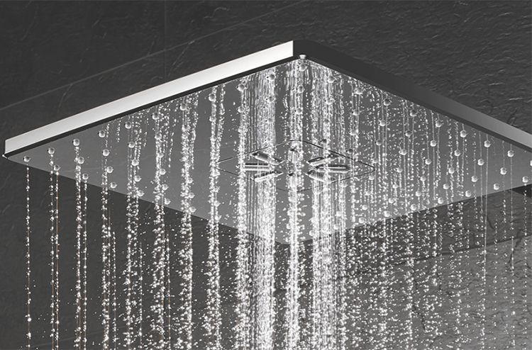 Showerheads come in all shapes, sizes, and price ranges.