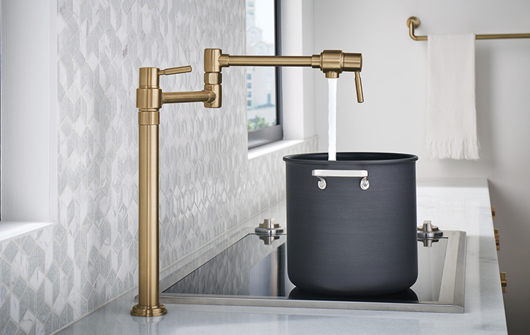 Five Reasons You Ll Really Use Your Pot Filler Faucet Riverbend Home
