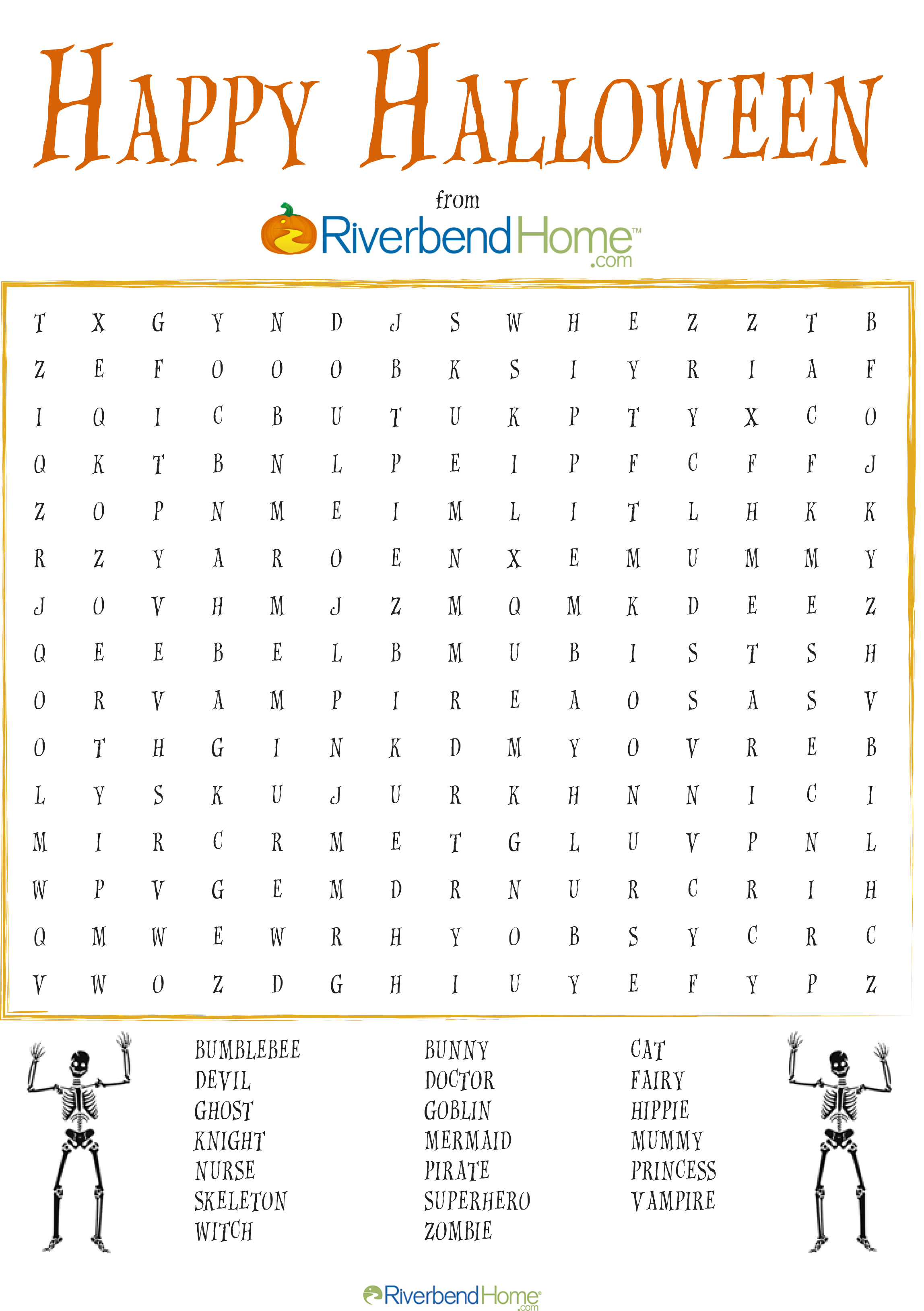 This is a picture of Halloween Word Search Puzzles Printable pertaining to maze